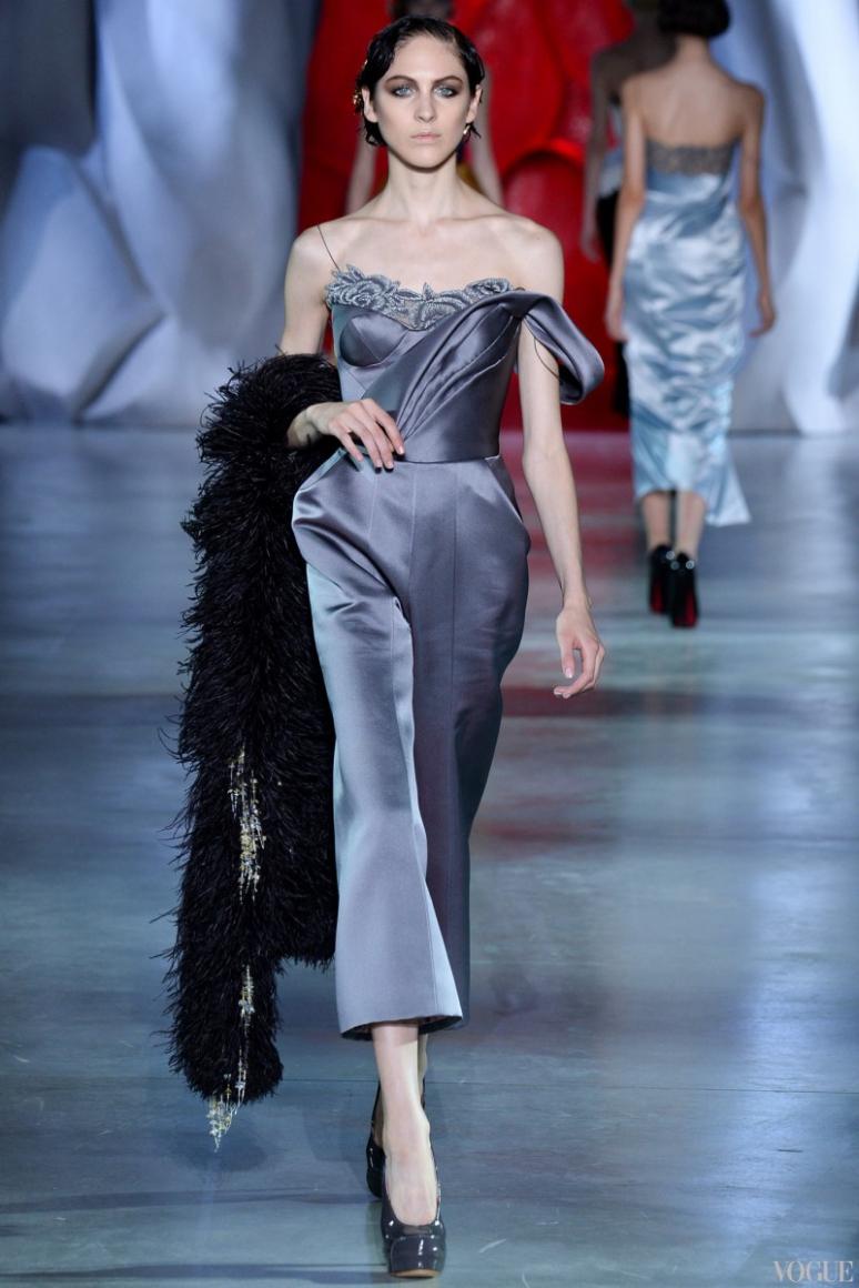 Ulyana Sergeenko Couture осень-зима 2014/2015 #14