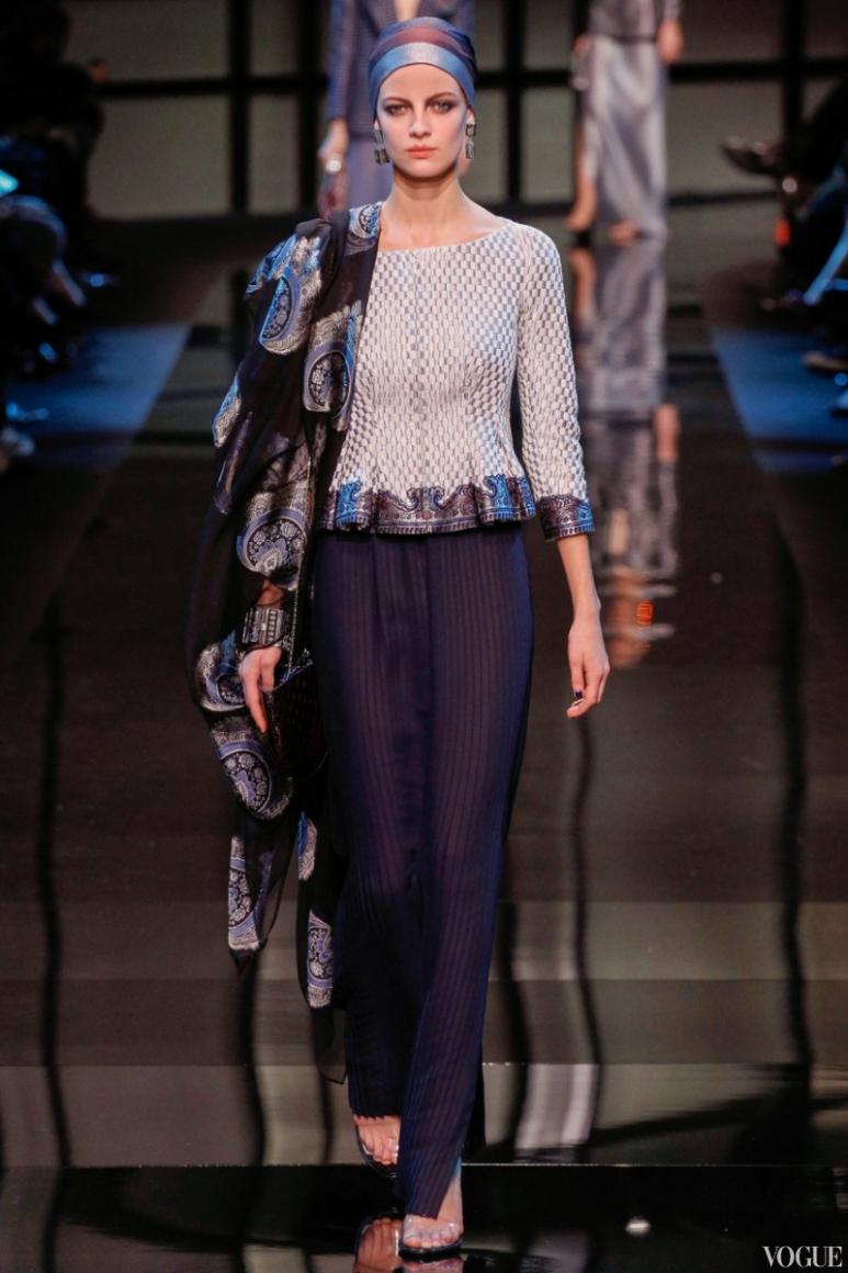 Armani Priv? Couture весна-лето 2014 #51