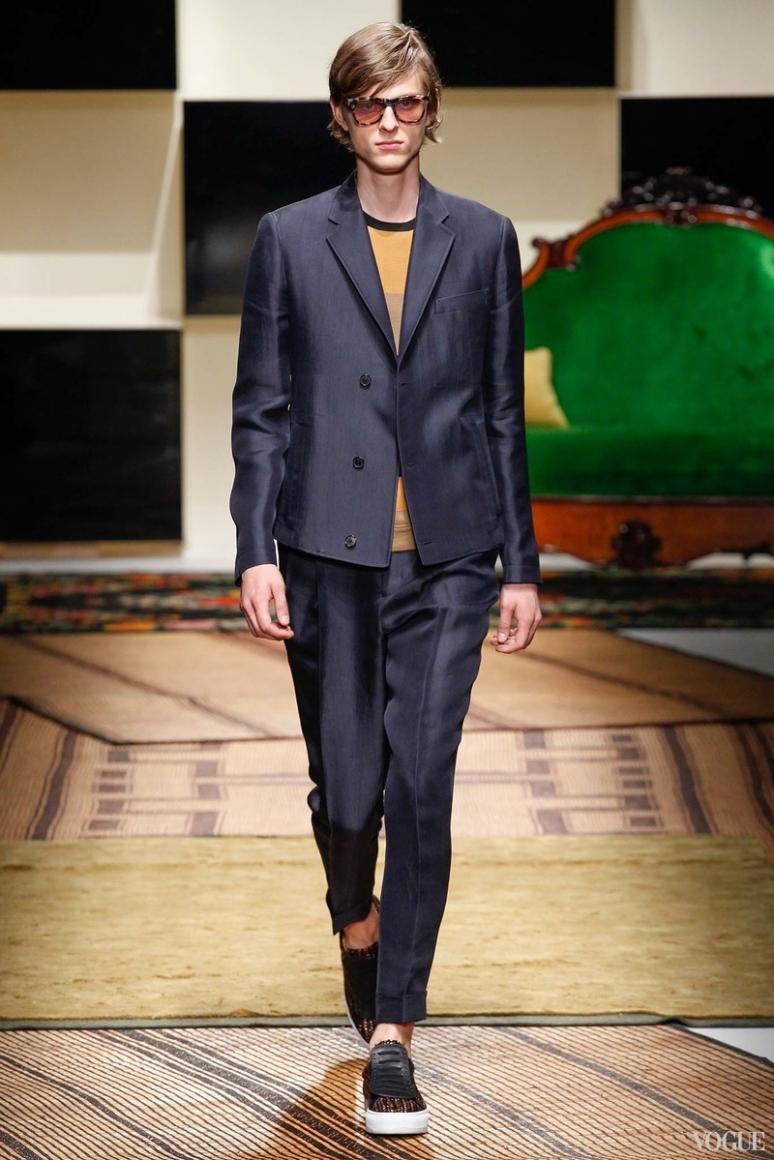 Salvatore Ferragamo Menswear весна-лето 2016 #27