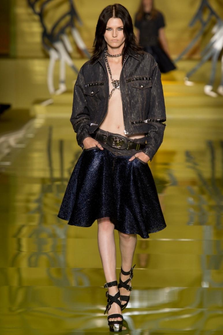 Versace весна-лето 2014 #49