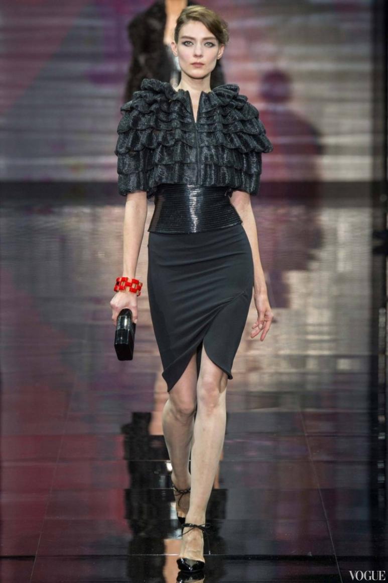 Armani Priv? Couture осень-зима 2014/2015 #27