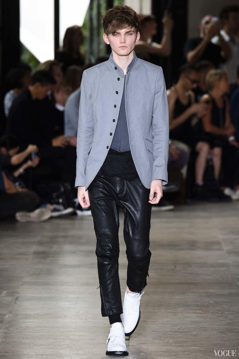 Ann Demeulemeester Menswear весна-лето 2016 #12