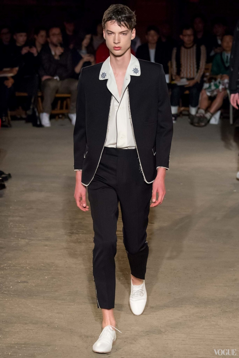 Alexander McQueen Menswear весна-лето 2016 #8