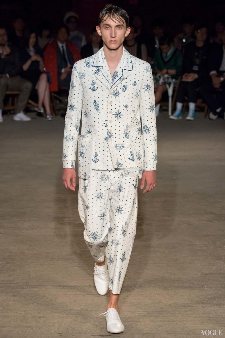 Alexander McQueen Menswear весна-лето 2016 #28