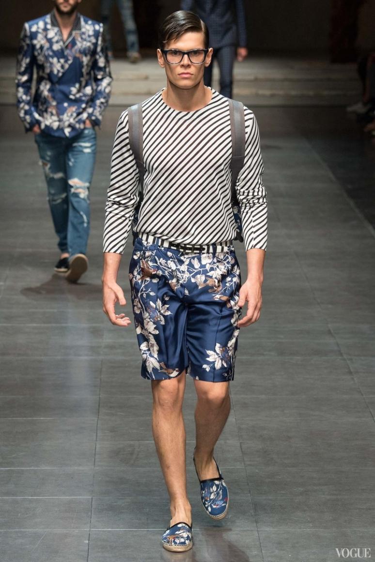 Dolce & Gabbana Menswear весна-лето 2016 #99