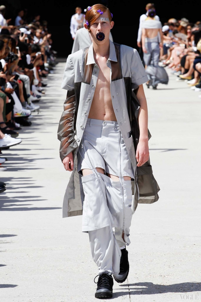 Hood by Air Menswear весна-лето 2016 #17