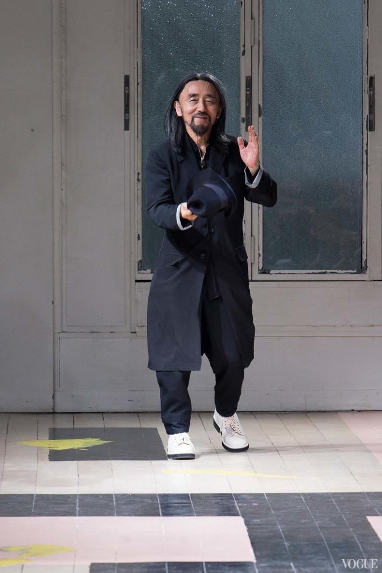 Yohji Yamamoto Menswear весна-лето 2016 #1