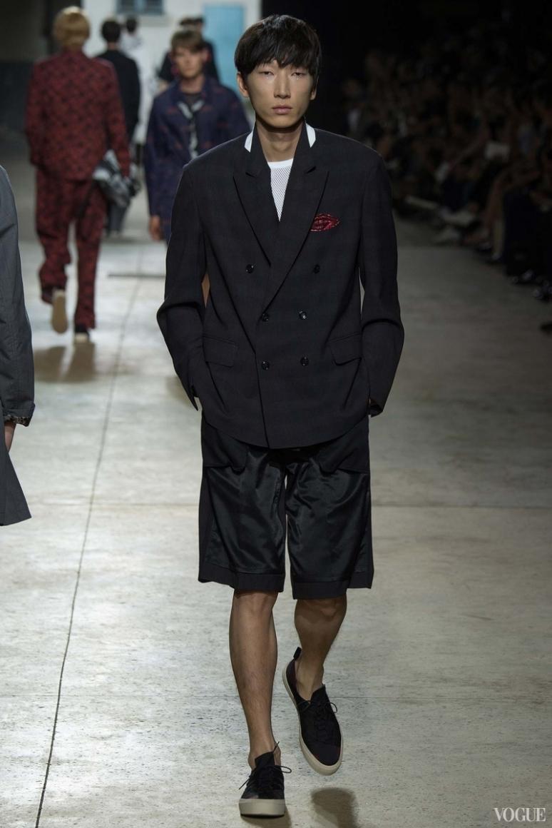 Dries van Noten Menswear весна-лето 2016 #38