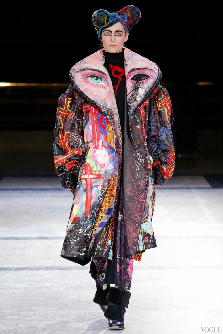 Yohji Yamamoto осень-зима 2014/2015 #1