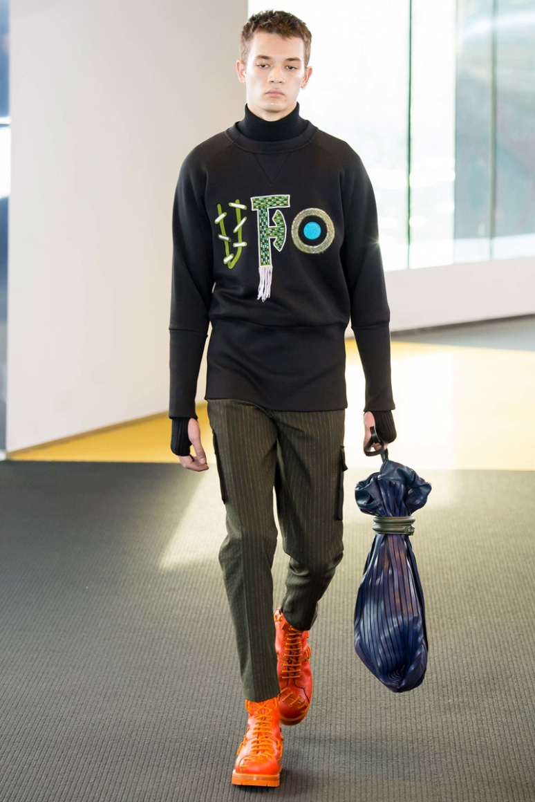 Kenzo Menswear осень-зима 2015/2016 #43