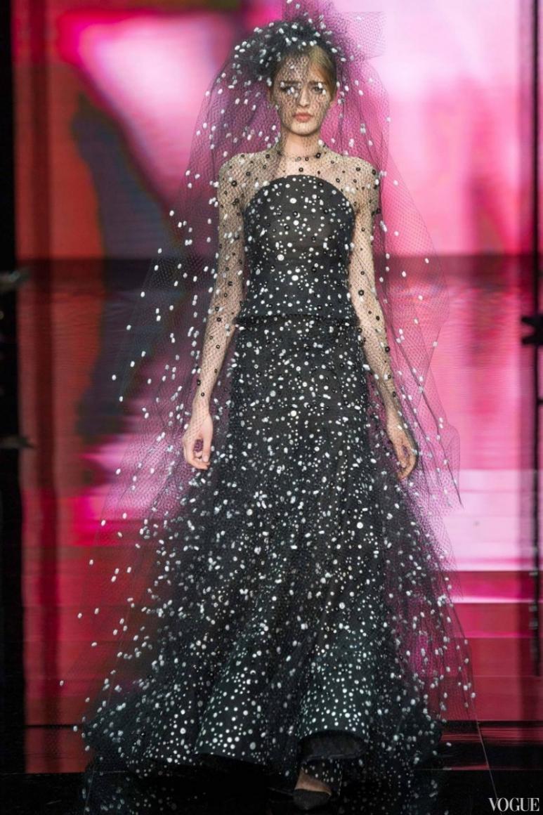 Armani Priv? Couture осень-зима 2014/2015 #8