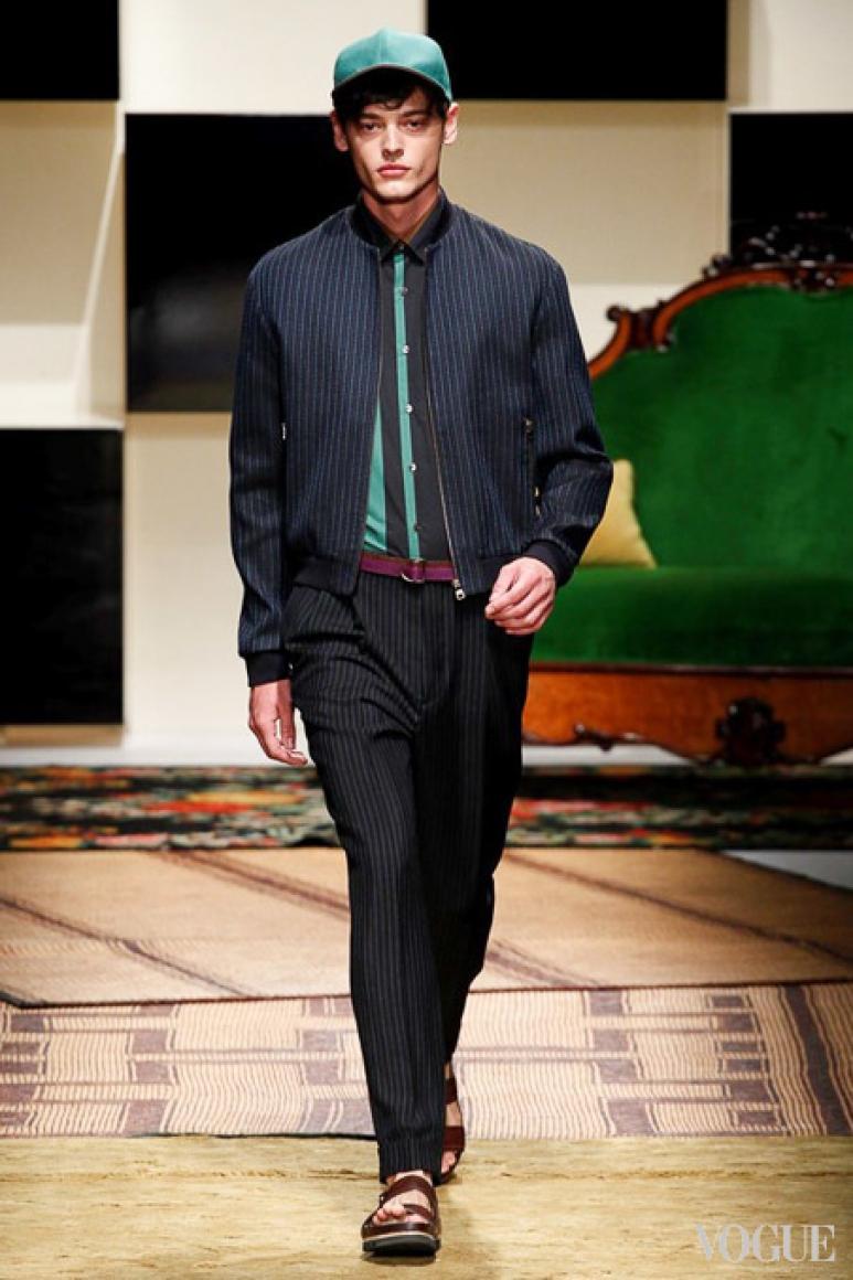 Salvatore Ferragamo Menswear весна-лето 2016 #39