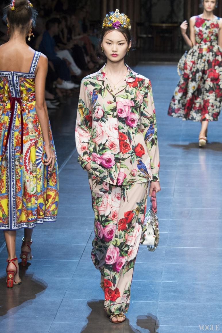 Dolce & Gabbana весна-лето 2016 #4