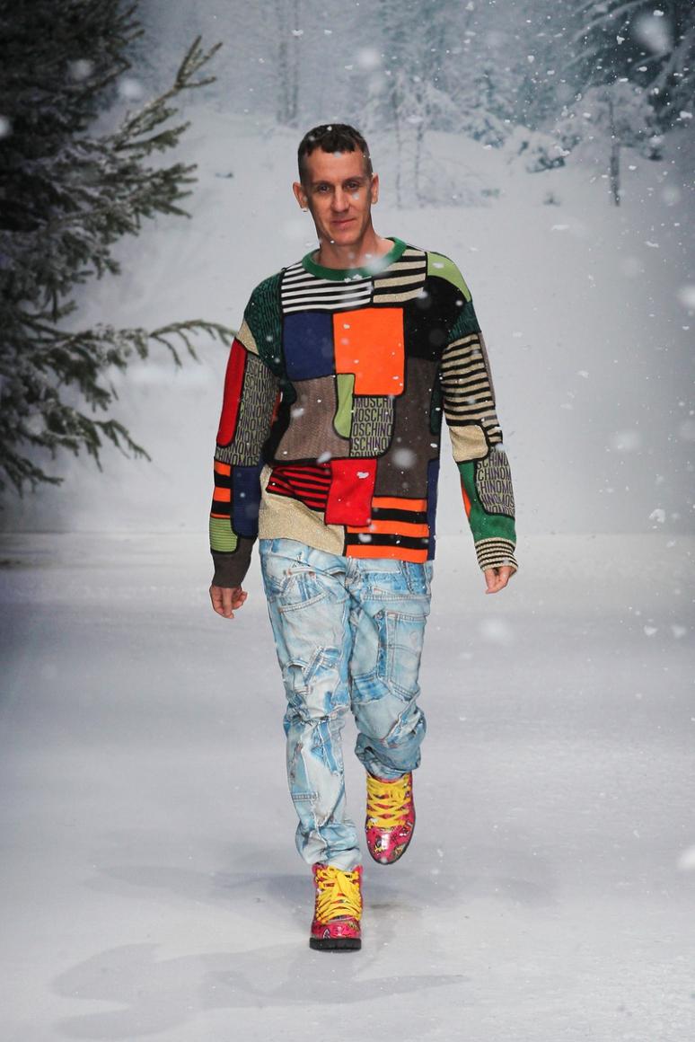 Moschino Menswear осень-зима 2015/2016 #1