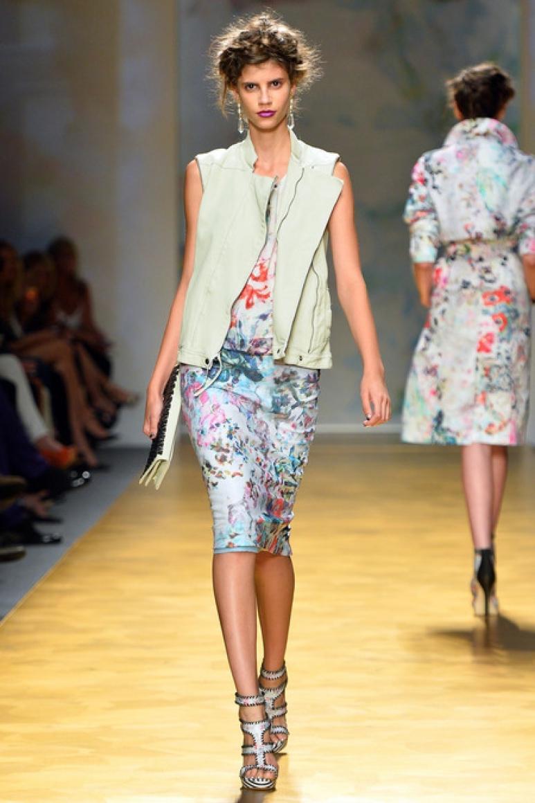 Nicole Miller весна-лето 2014 #32