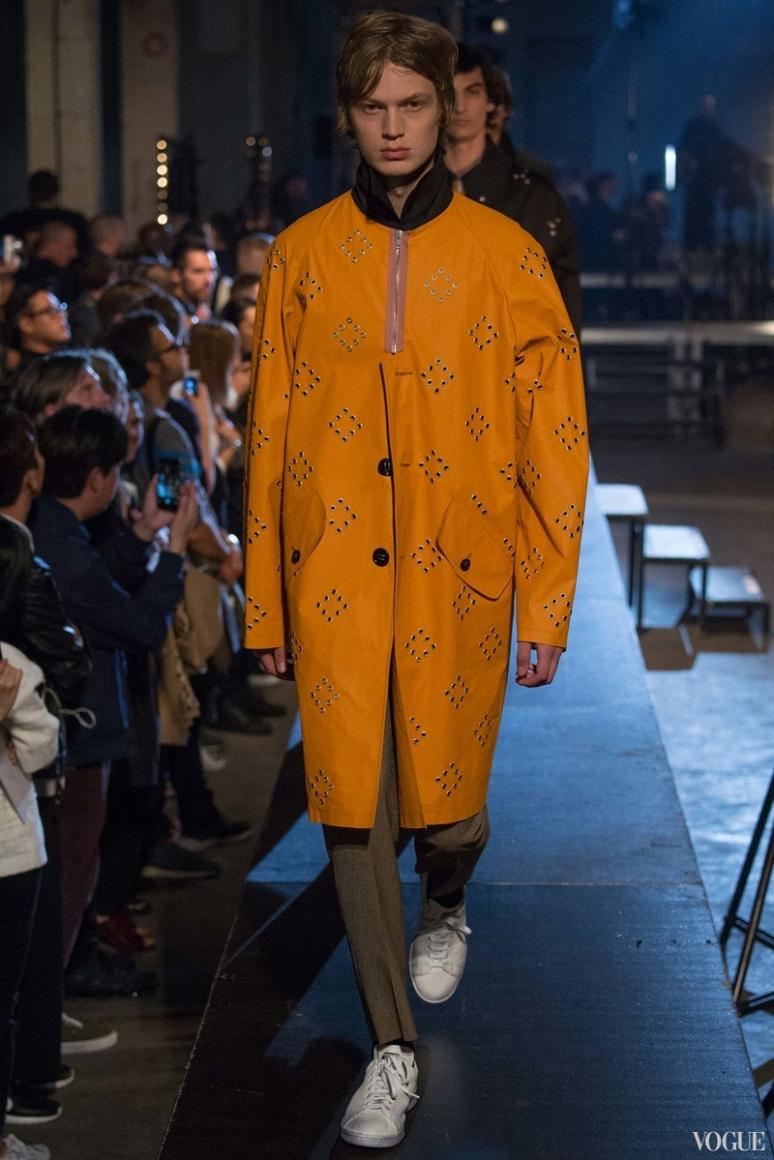 Raf Simons Menswear весна-лето 2016 #5