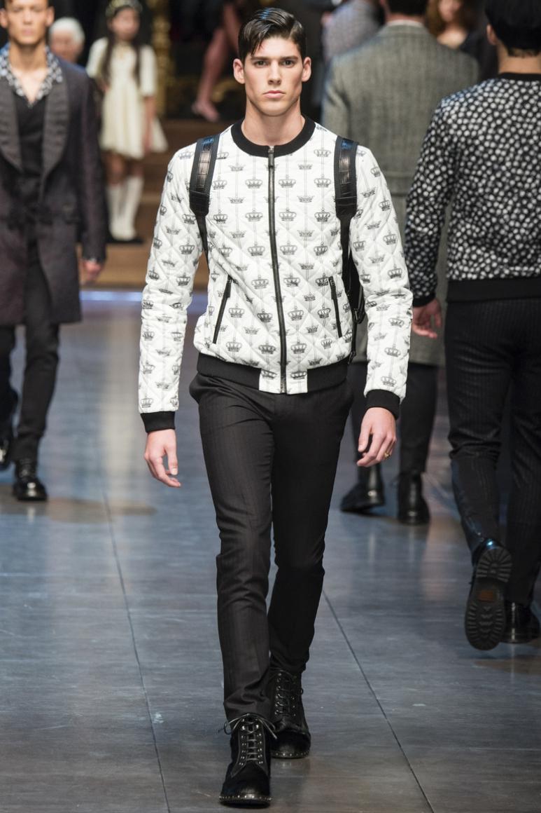 Dolce & Gabbana Menswear осень-зима 2015/2016 #29