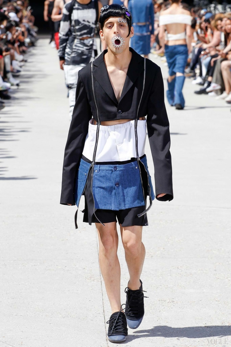 Hood by Air Menswear весна-лето 2016 #30