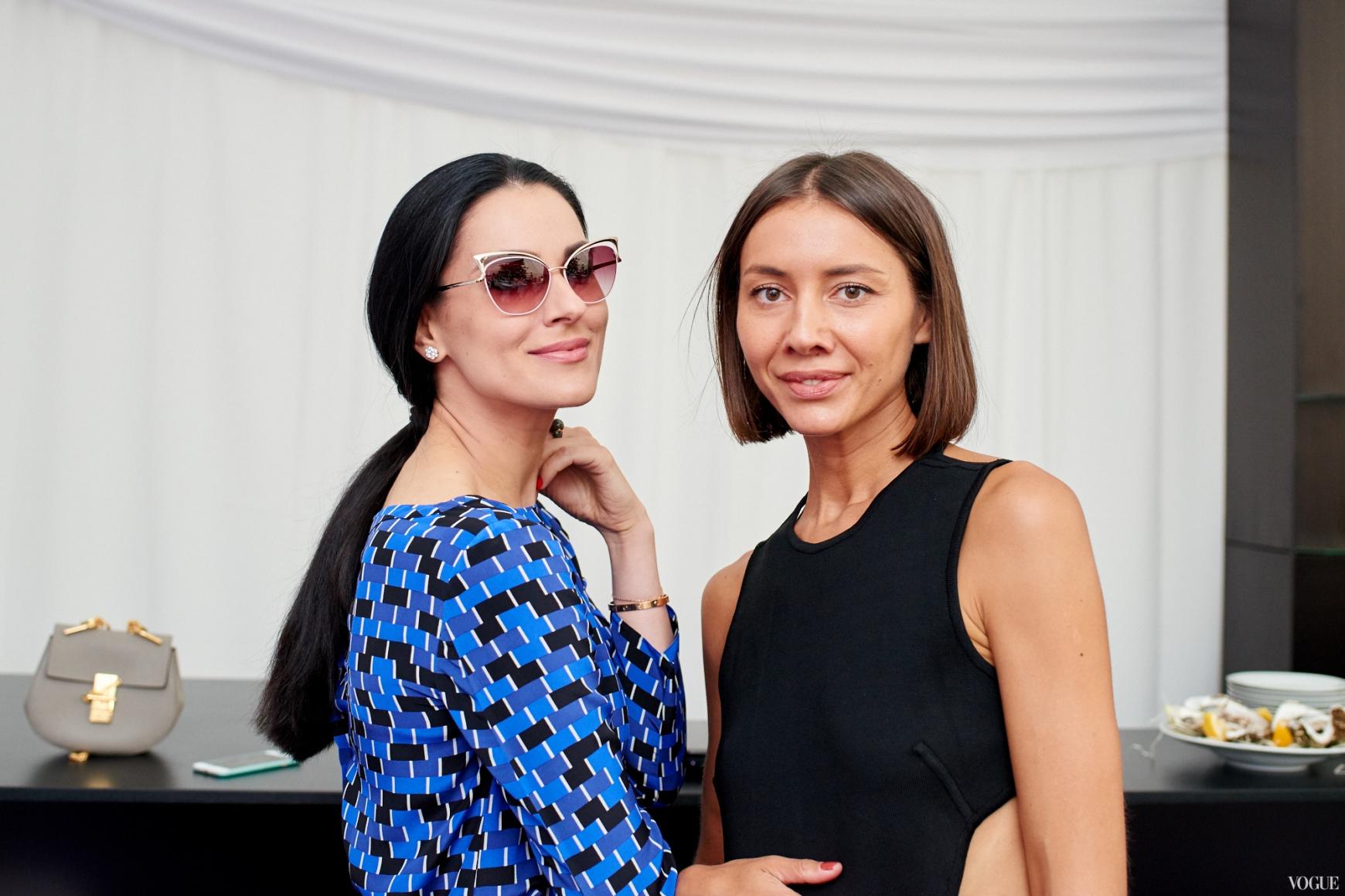 Маша Ефросинина и Юлия Пелипас