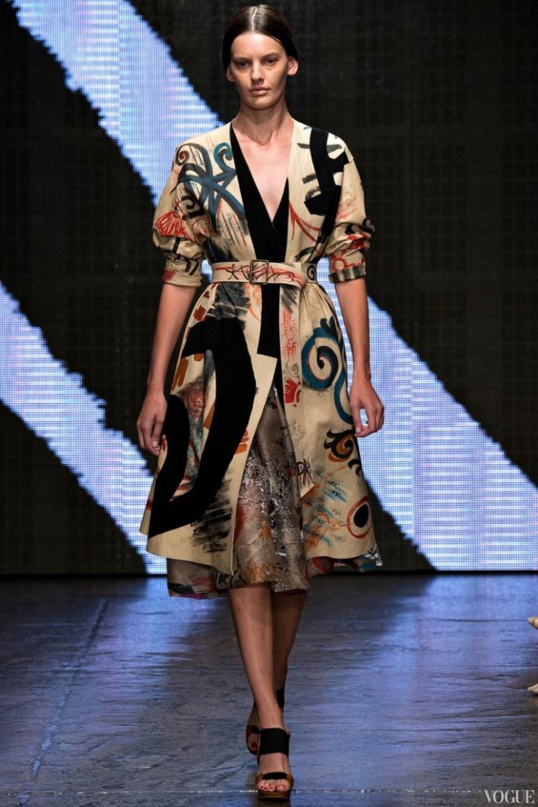 Donna Karan весна-лето 2015 #28