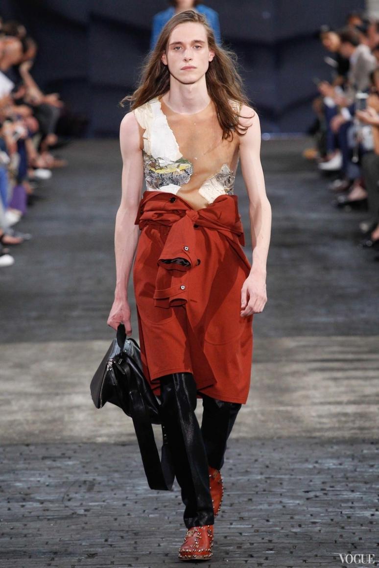 Maison Martin Margiela Menswear весна-лето 2016 #11
