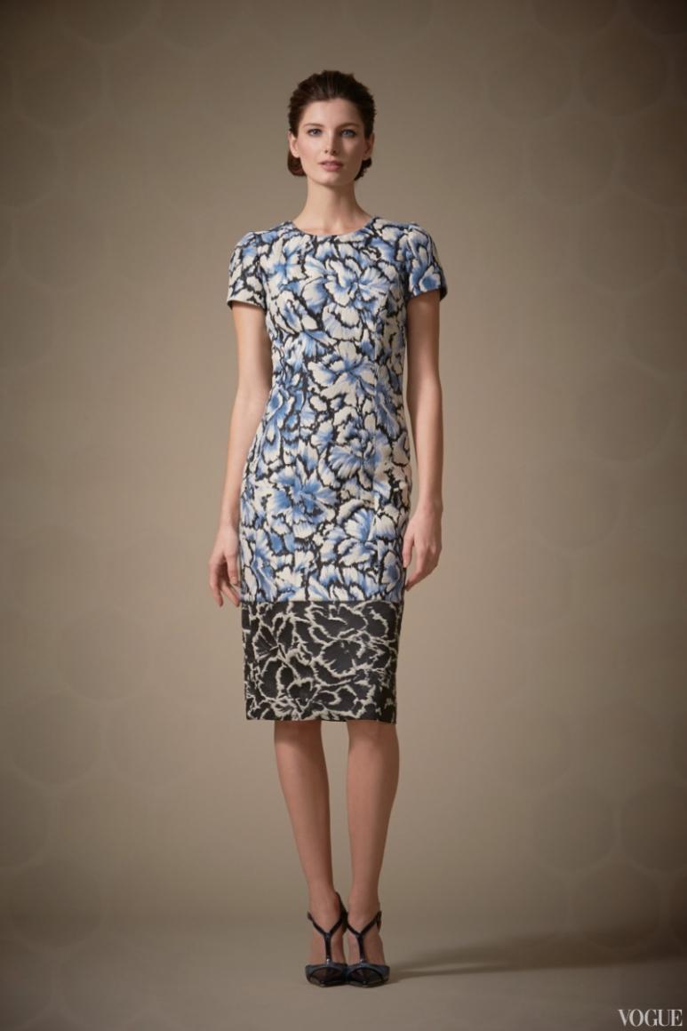 Carolina Herrera Couture весна-лето 2013 #11