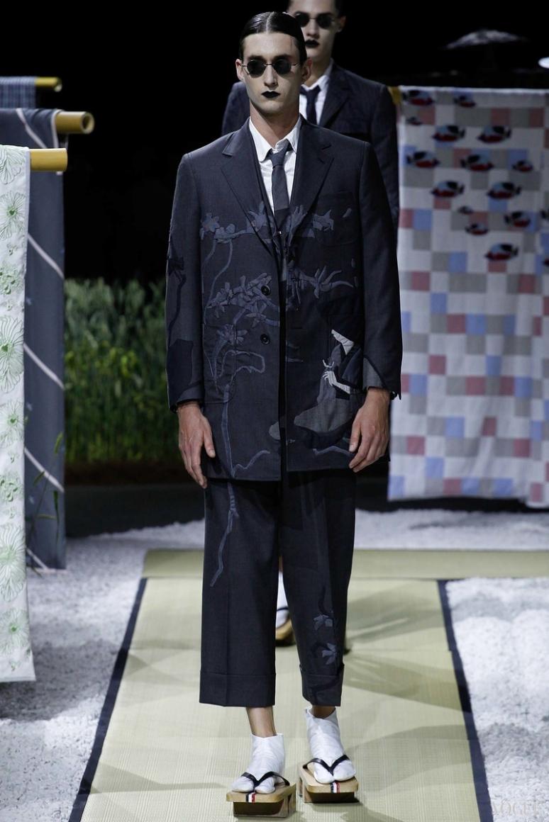 Thom Browne Menswear весна-лето 2016 #23