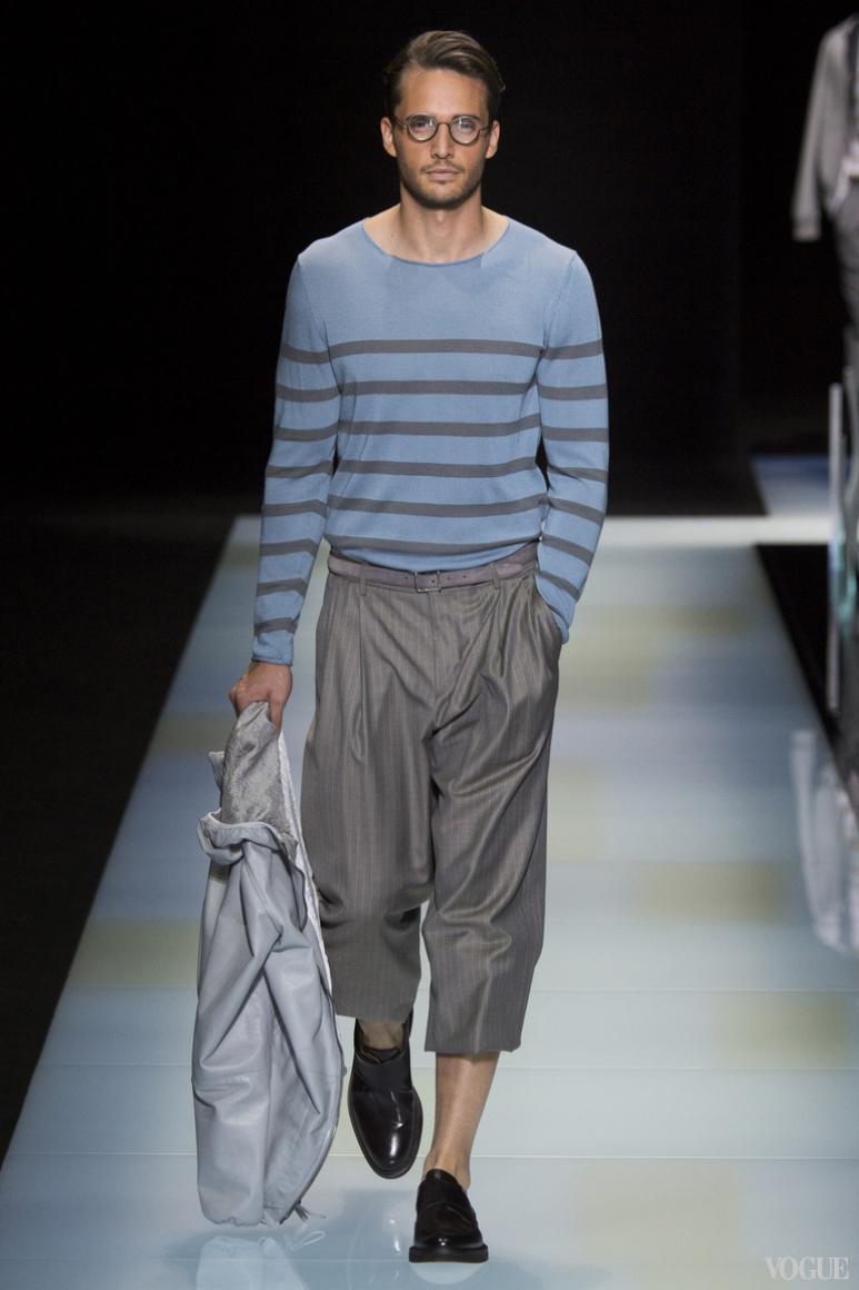Giorgio Armani Menswear весна-лето 2016 #24