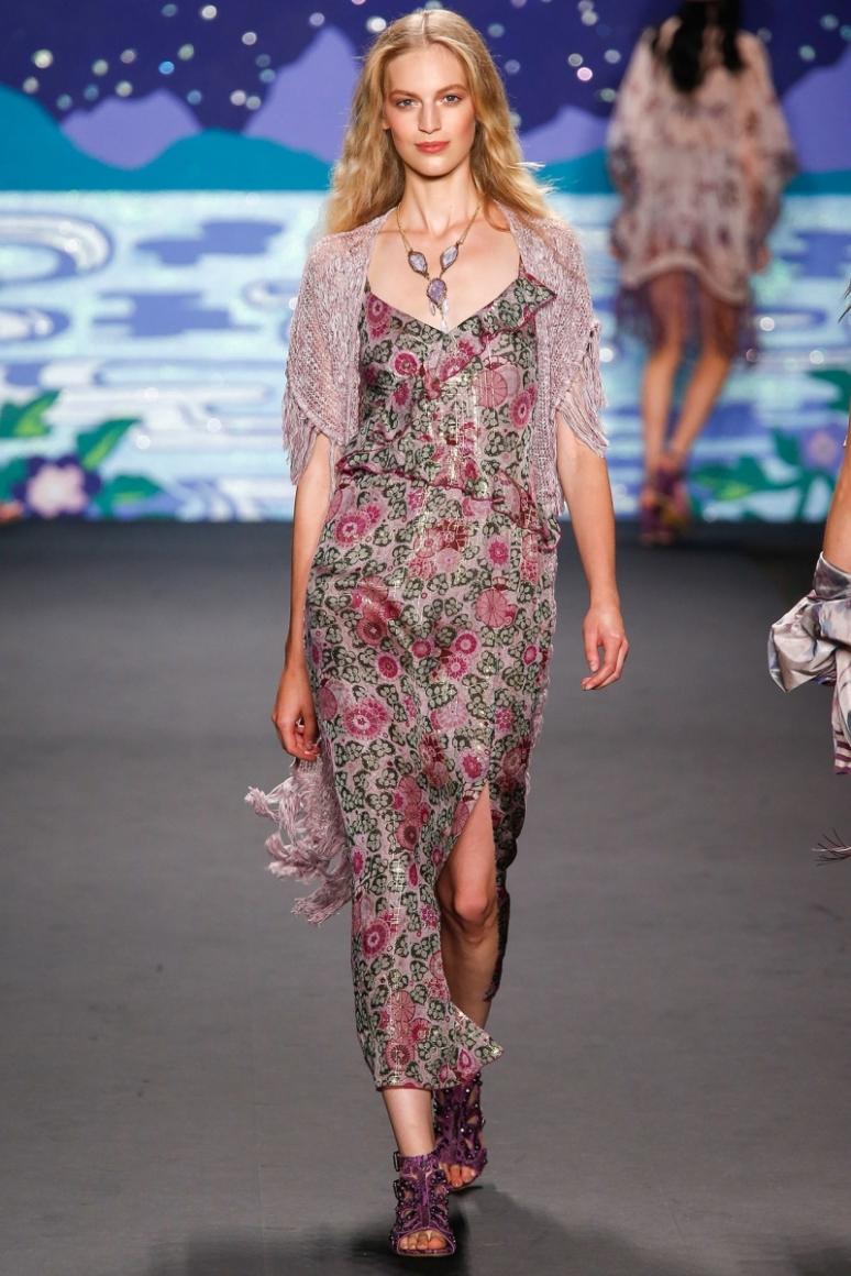 Anna Sui весна-лето 2014 #38