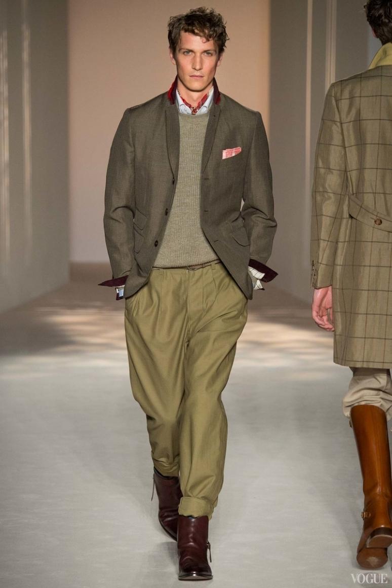 Dunhill Menswear весна-лето 2016 #19