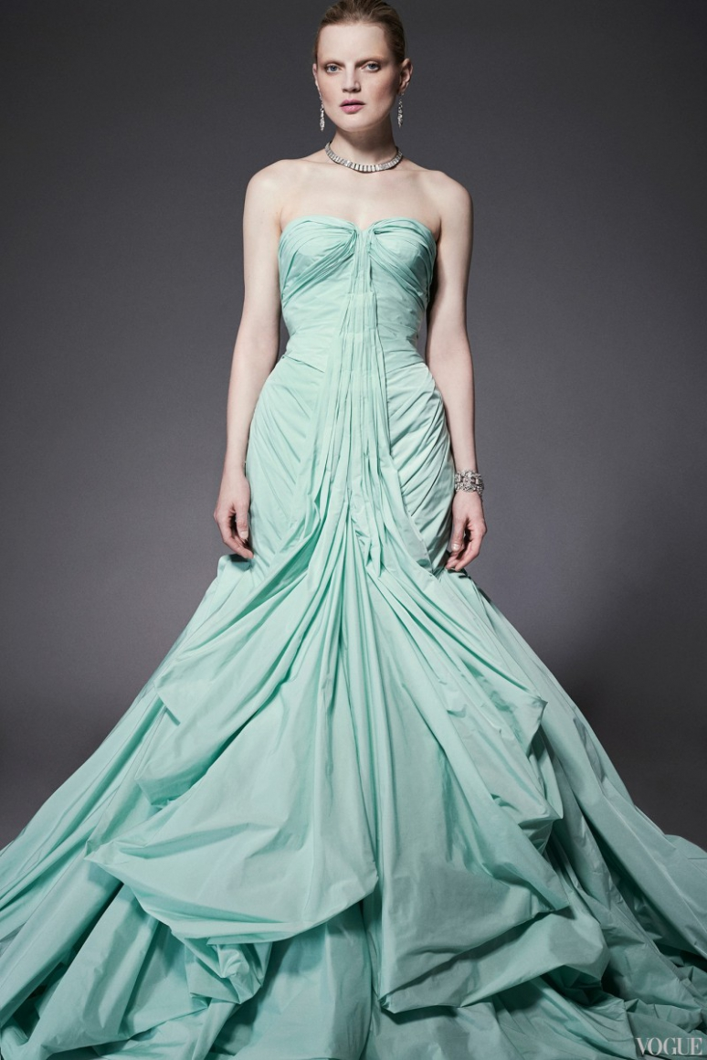 Zac Posen Resort 2015 #9