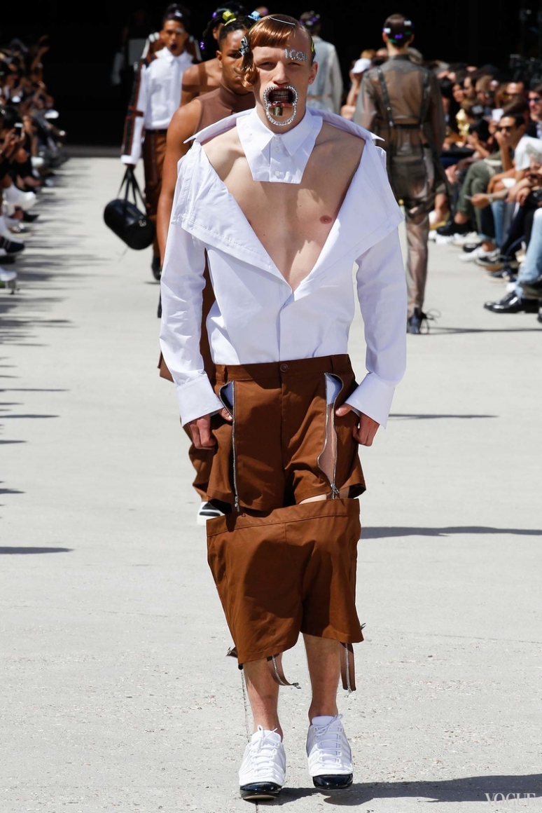 Hood by Air Menswear весна-лето 2016 #14