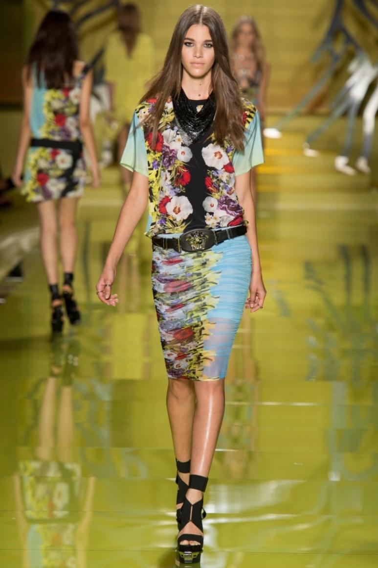 Versace весна-лето 2014 #22