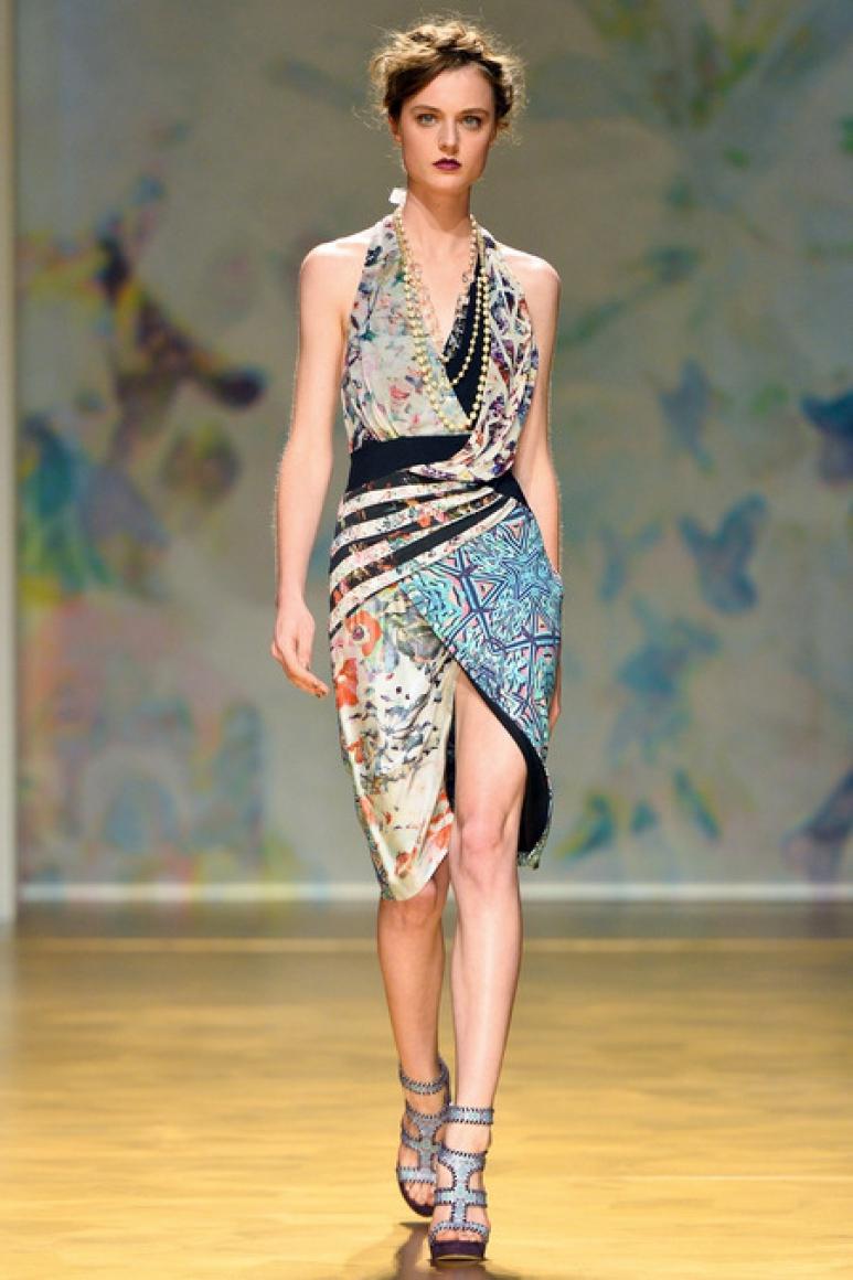 Nicole Miller весна-лето 2014 #38