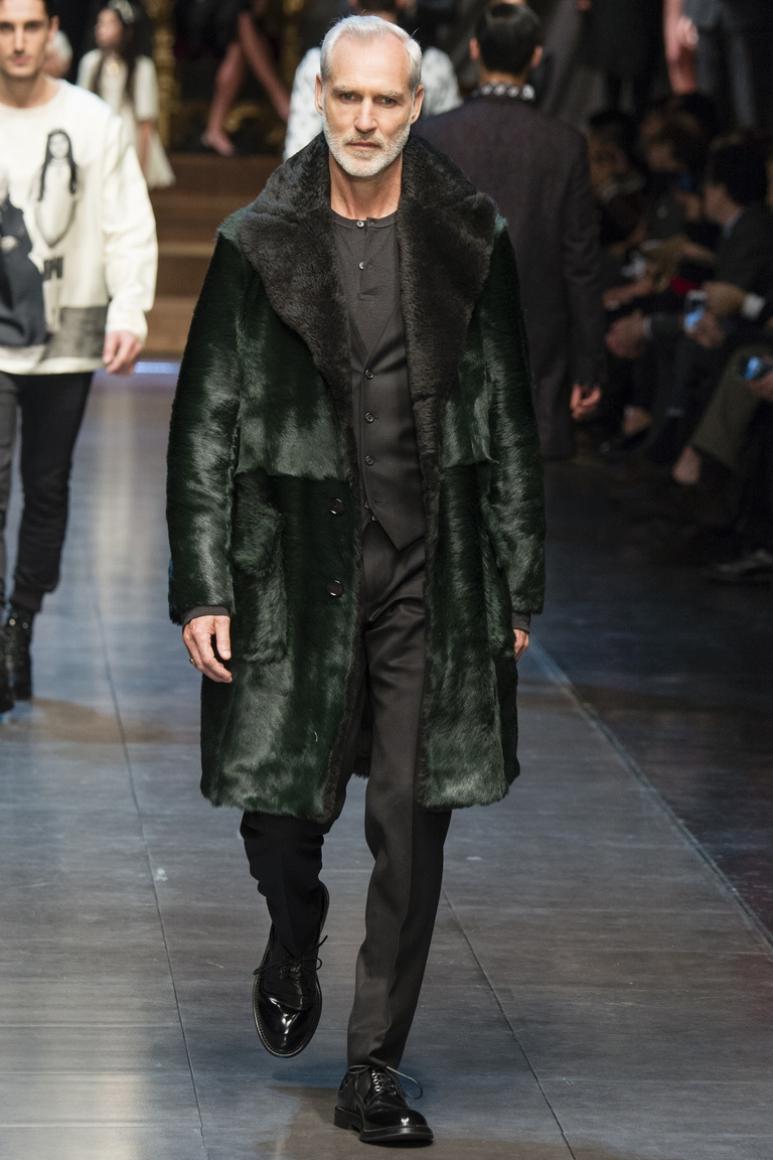 Dolce & Gabbana Menswear осень-зима 2015/2016 #26