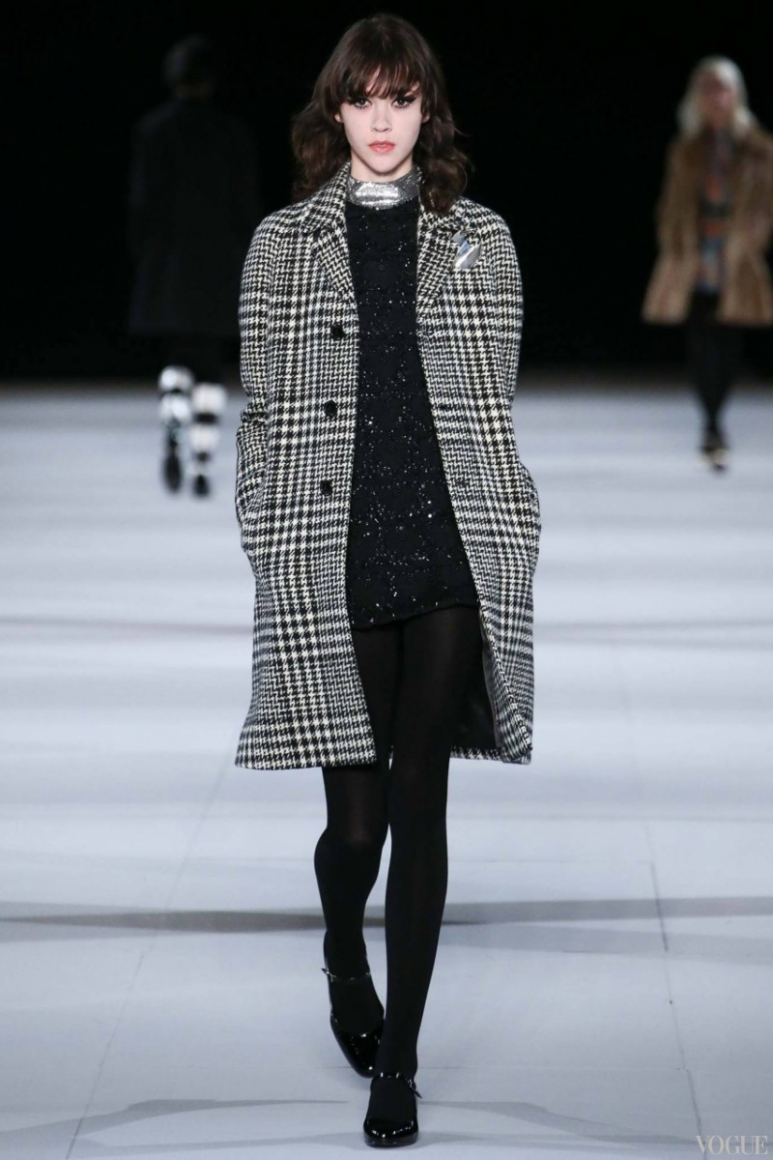 Saint Laurent осень-зима 2014/2015 #41