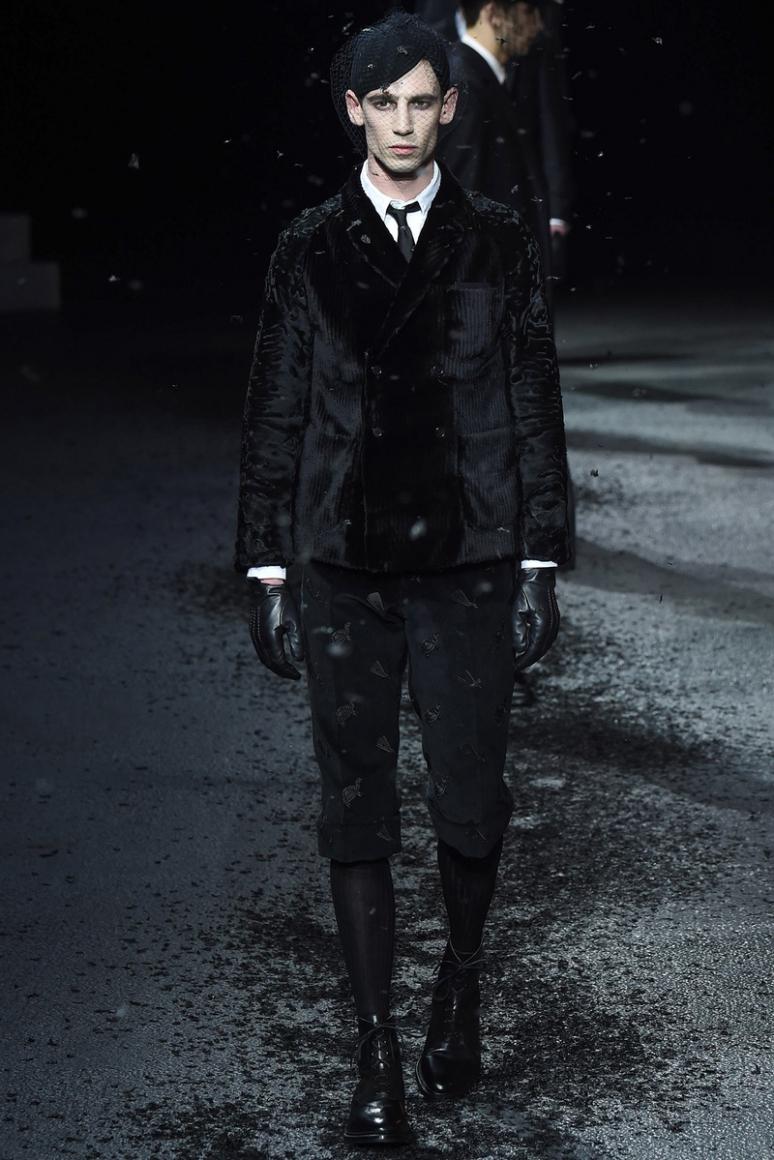 Thom Browne Menswear осень-зима 2015/2016 #14