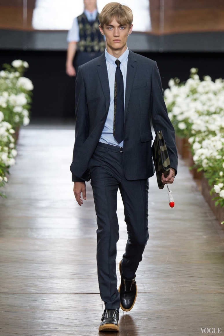 Dior Homme Menswear весна-лето 2016 #45
