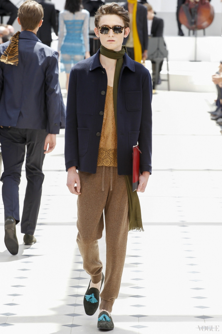 Burberry Prorsum Menswear весна-лето 2016 #30
