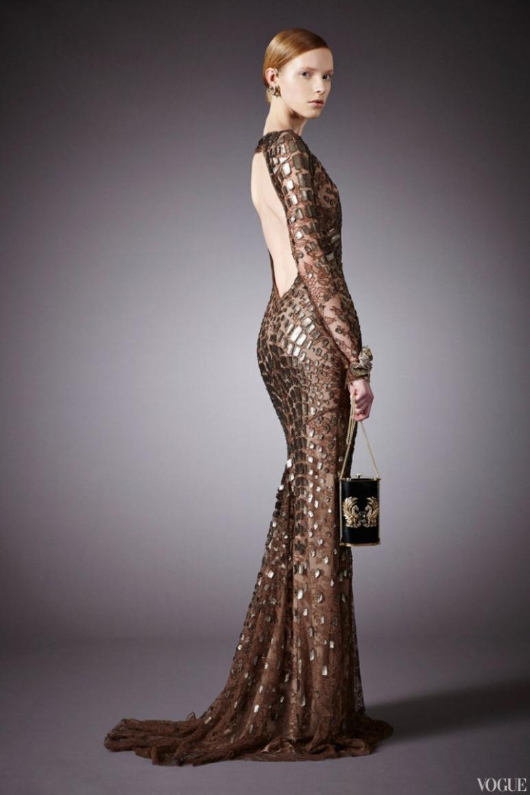 Roberto Cavalli Couture весна-лето 2013 #27