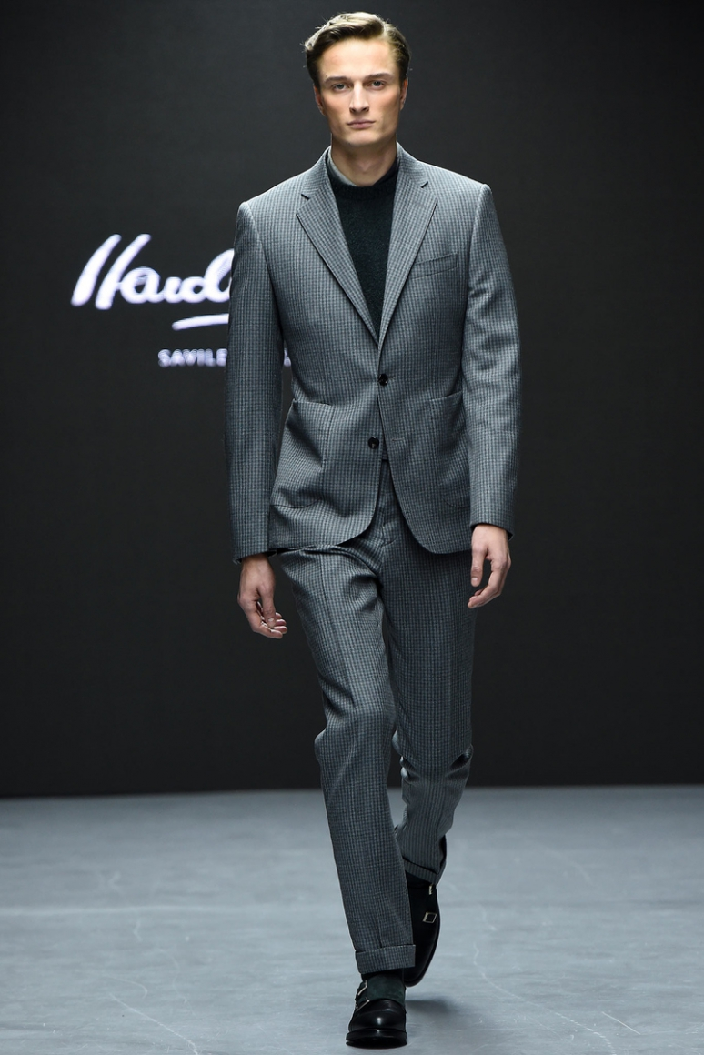 Hardy Amies Menswear осень-зима 2015/2016 #20