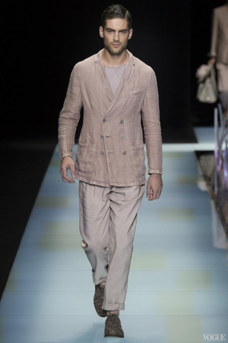 Giorgio Armani Menswear весна-лето 2016 #53