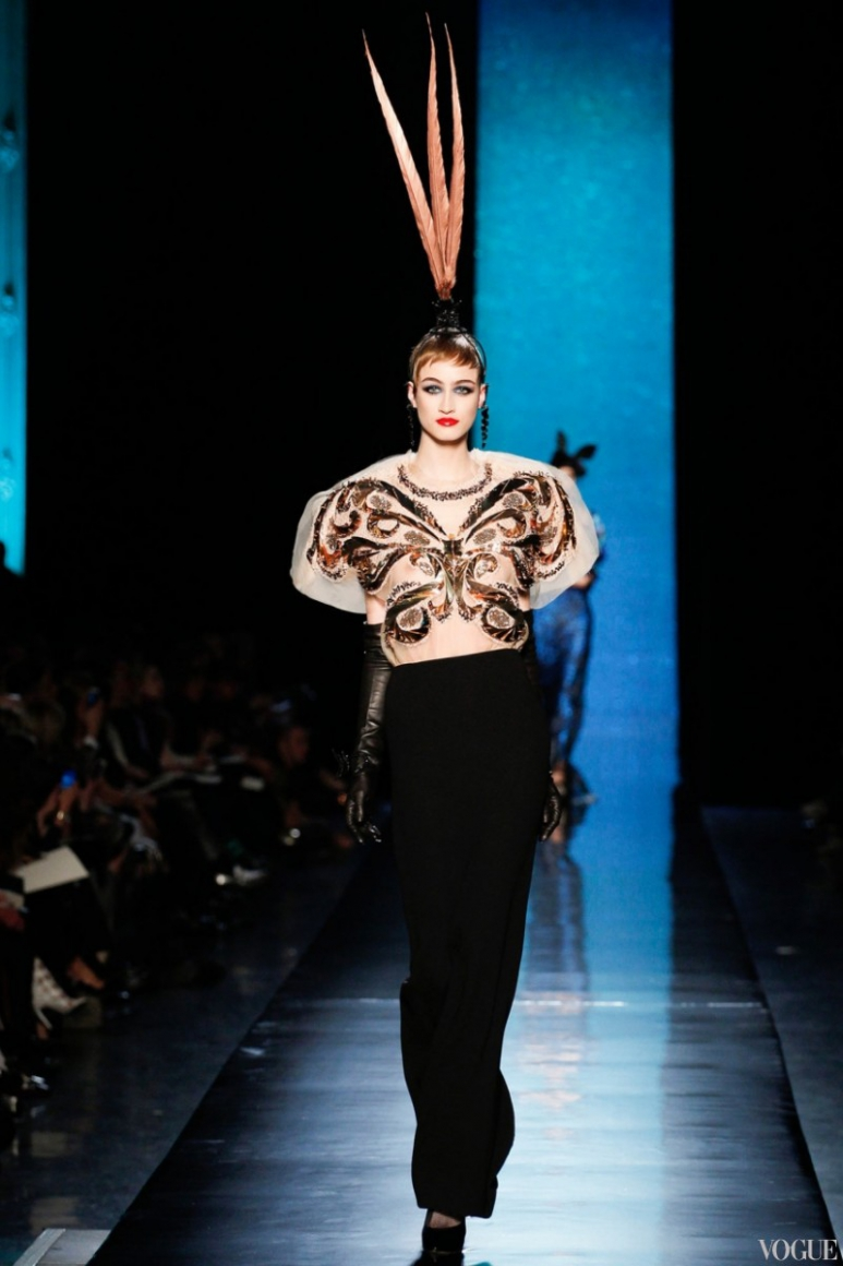 Jean Paul Gaultier Couture весна-лето 2014 #16