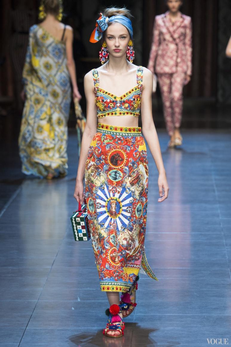 Dolce & Gabbana весна-лето 2016 #39