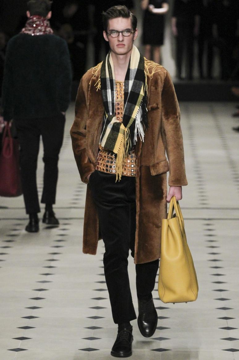 Burberry Prorsum Menswear осень-зима 2015/2016 #12