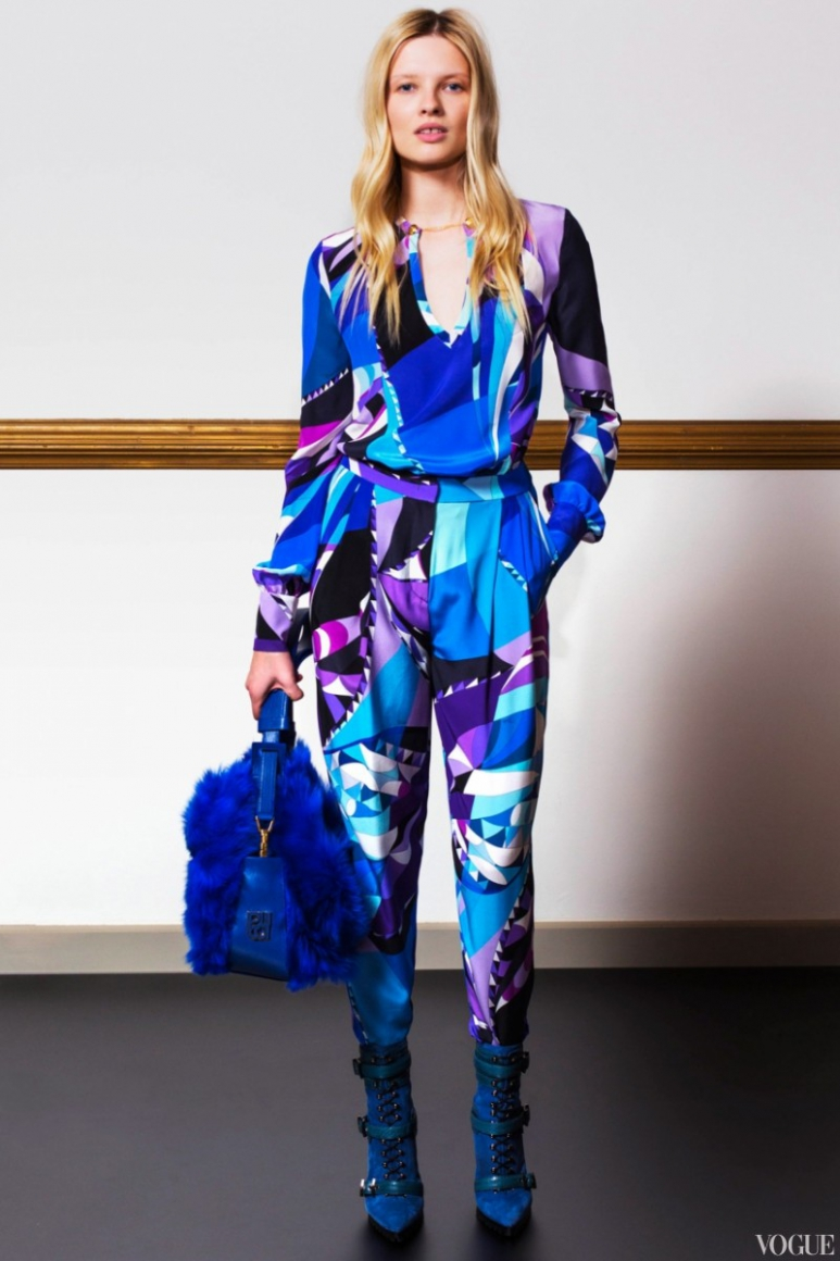 Emilio Pucci Couture весна-лето 2013 #14