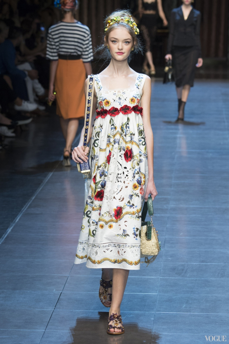 Dolce & Gabbana весна-лето 2016 #66
