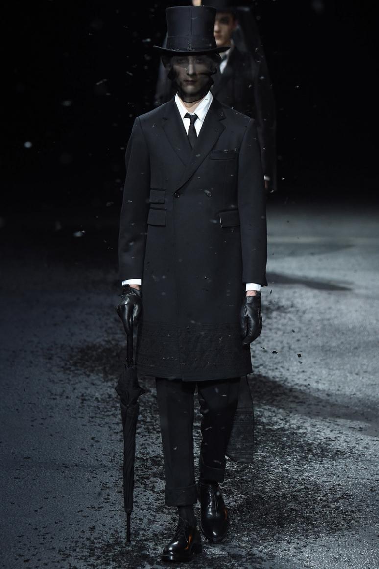 Thom Browne Menswear осень-зима 2015/2016 #22