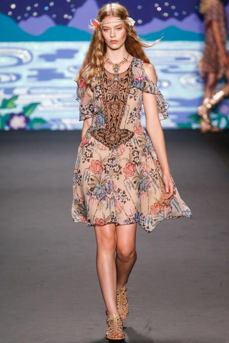 Anna Sui весна-лето 2014 #14