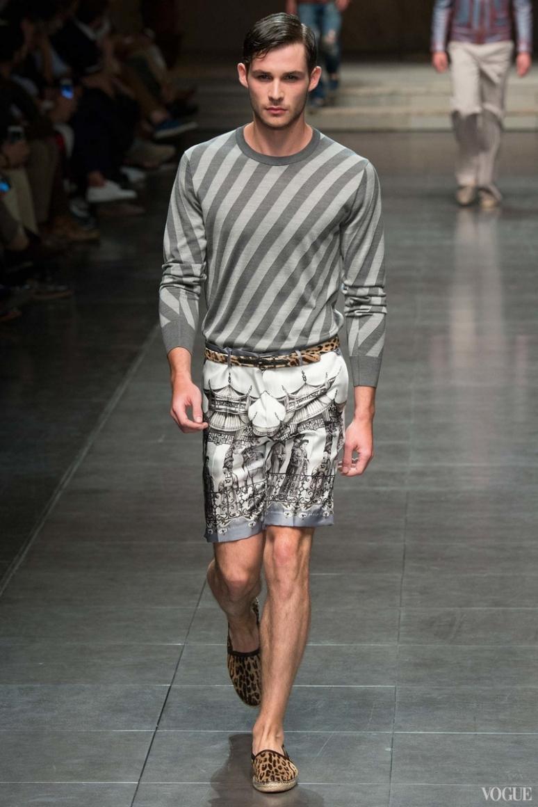 Dolce & Gabbana Menswear весна-лето 2016 #77